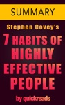 7 Habits Of Highly Effective People By Stephen Covey - Summary  Analysis
