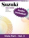 Suzuki Viola School - Volume 3 Revised