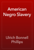 Ulrich Bonnell Phillips - American Negro Slavery artwork