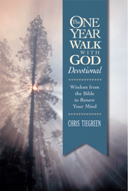 The One Year Walk with God Devotional book