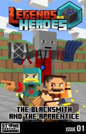 Diary of a Minecraft Blacksmith - The Blacksmith and The Apprentice - Stone Marshall Book