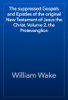 William Wake - The suppressed Gospels and Epistles of the original New Testament of Jesus the Christ, Volume 2, the Protevanglion artwork