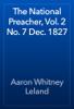 Aaron Whitney Leland - The National Preacher, Vol. 2 No. 7 Dec. 1827 artwork