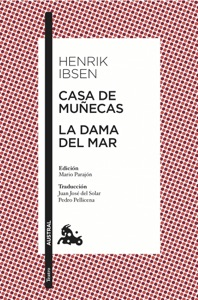 Casa de muñecas / La dama del mar Book Cover