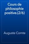 Cours De Philosophie Positive26
