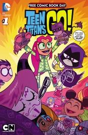 FCBD 2015 - Teen Titans Go!/Scooby-Doo Team-Up Special Edition (2015) #1