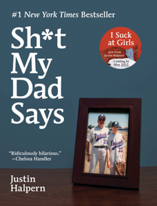 Sh*t My Dad Says Book Cover