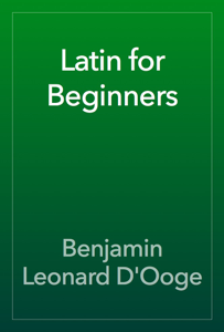 Latin for Beginners Book Review