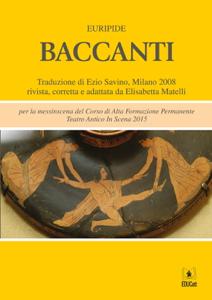 Baccanti Libro Cover