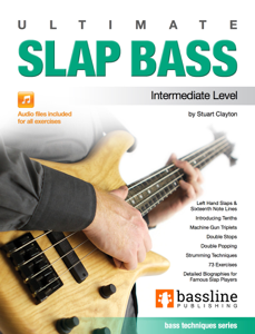 Ultimate Slap Bass La couverture du livre martien