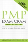 PMP Exam Cram Pass On The First Time Project Management Professional Exam