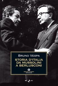 Storia d'Italia da Mussolini a Berlusconi Book Cover