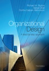 Organizational Design Third Edition