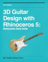 3d Guitar Design with Rhinoceros 5
