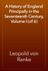 Leopold von Ranke - A History of England Principally in the Seventeenth Century, Volume I (of 6) artwork