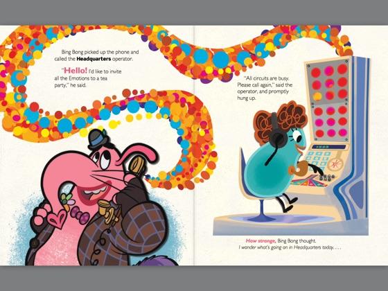 An Imaginary Friend (Disney/Pixar Inside Out)