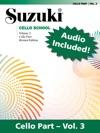 Suzuki Cello School - Volume 3 Revised