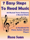 7 Easy Steps To Read Music - A Handbook For Piano Guitar Ukulele Players