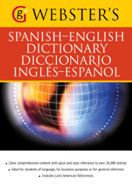 Webster's Spanish-English Dictionary/Diccionario Ingles-Espanol book