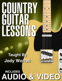 Country Guitar Lessons with Audio & Video book