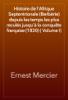 Ernest Mercier - Histoire de l'Afrique Septentrionale (Berbérie) depuis les temps les plus reculés jusqu'à la conquête française (1830) ( Volume I) artwork