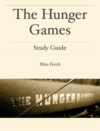 WHS - The Hunger Games: Study Guide book