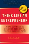 Think Like An Entrepreneur What You Need To Consider Before You Write A Business Plan