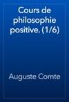 Cours De Philosophie Positive 16