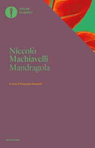 La mandragola (Mondadori) Copertina del libro