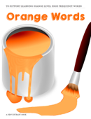 Orange High Frequency Words