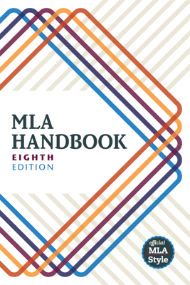 MLA Handbook - The Modern Language Association of America book
