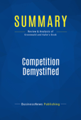 Summary: Competition Demystified Book Cover