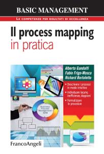 Il process mapping in pratica Copertina del libro
