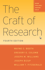 The Craft of Research, Fourth Edition book