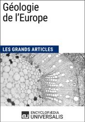 Géologie de l'Europe