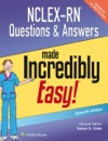 NCLEX-RN Questions  Answers Made Incredibly Easy