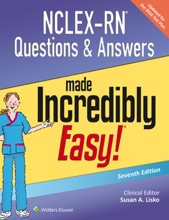 NCLEX-RN® Questions & Answers made Incredibly Easy!®