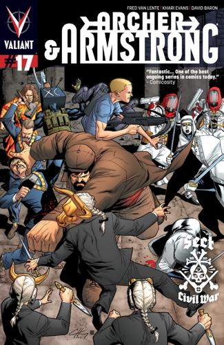 Fred Van Lente, Khari Evans, ChrisCross, David Baron & Allan Passalaqua - Archer & Armstrong (2012) Issue 17