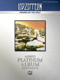 LED ZEPPELIN - HOUSES OF THE HOLY PLATINUM BASS GUITAR