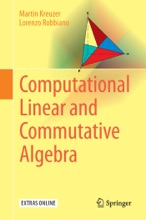 Computational Linear And Commutative Algebra
