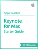 Apple Education - Keynote for Mac Starter Guide OS X El Capitan artwork