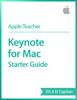 Apple Education - Keynote for Mac Starter Guide OS X El Capitan artwork