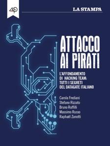 Attacco ai pirati Copertina del libro