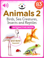 Animals 2 – Birds, Sea Creatures, Insects and Reptiles