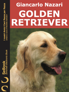 Golden Retriever Copertina del libro