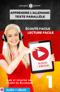 Apprendre l'allemand - Texte parallèle : Écoute facile - Lecture facile : Audio + eBook N° 1 La couverture du livre martien