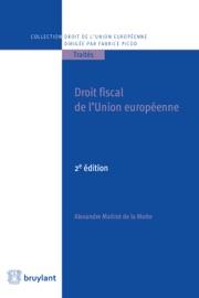 Droit Fiscal De L Union Europ Enne