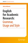 English For Academic Research Grammar Usage And Style