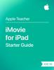 Apple Education - iMovie for iPad Starter Guide iOS 10 artwork