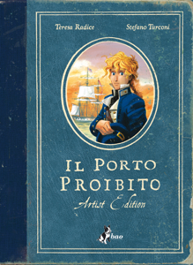 Il Porto Proibito – Artist Edition Book Cover